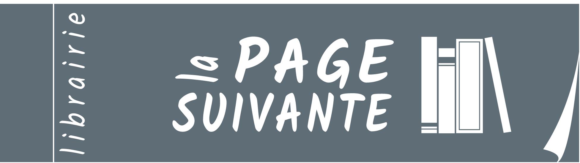 Logo La Page Suivante Librairie Lyon 6