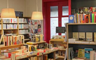 Vue librairie La Page Suivante - Lyon 6