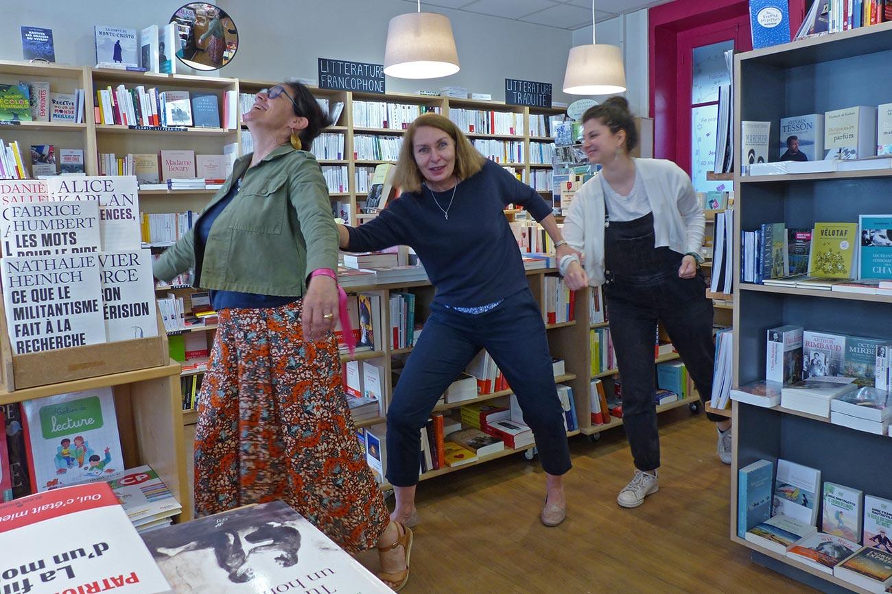 Équipe de la librairie La Page Suivante - Lyon 6