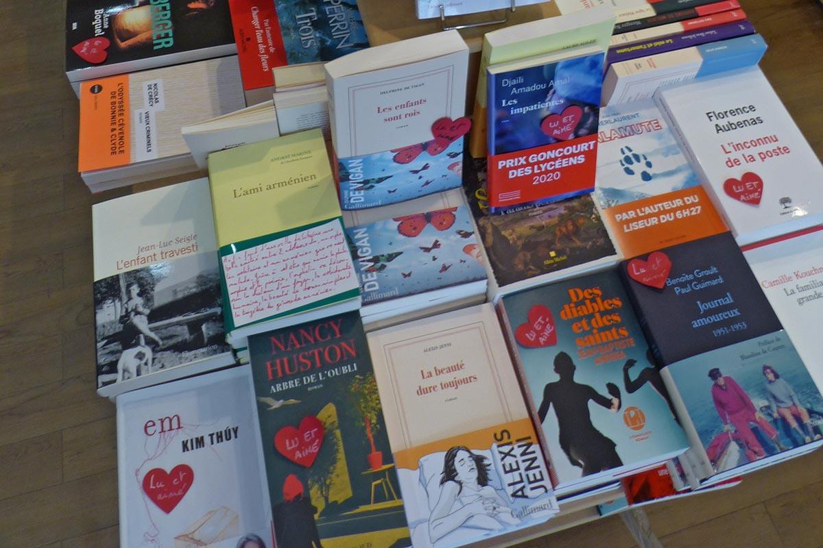 Rayon adultes - Librairie Lyon 6