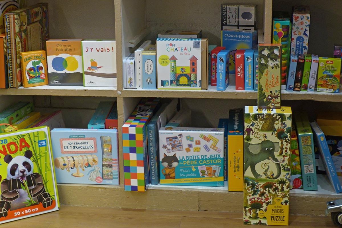 Rayon petits enfants - Librairie Lyon 6