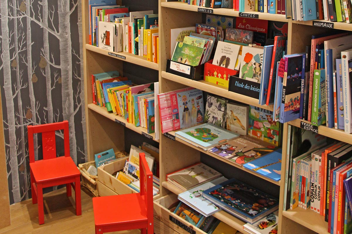 Rayons petits enfants - Librairie Lyon 6