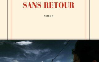 couverture été sans retour collection blanche gallimard, photo avec homme de dos observant une route