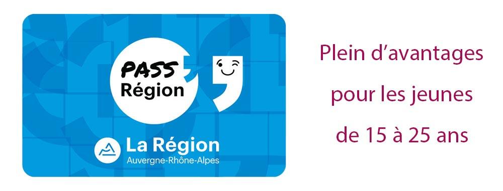 Logo pass région - rhone - lyon